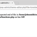 IDOLTV Một số lỗi thường gặp Wordpress 2